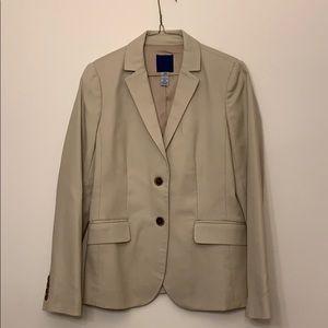 J. Crew blazer suit  jacket beige. Size 4.